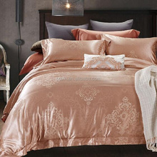 Bedding Comforter Sets Luxury Jacquard Silk Bedding Set