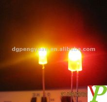 High Brightness Oval Type 5mm Dip LED Diode(red/green/blue/yellow/bi-color/rgb etc)