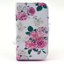 Multi images PU leather case for Moto E,for Moto E phone case