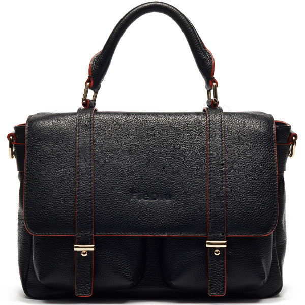 S977-A3912 Hot sale European business bag women leather briefcase with 100% genuine leather