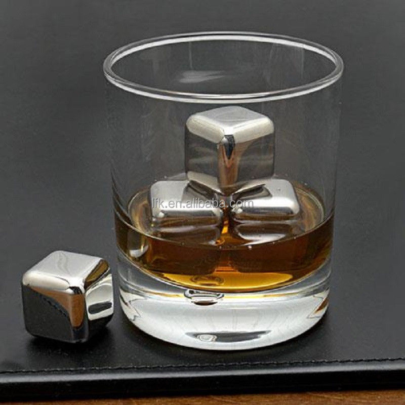 Trendy Christmas Gift, Stainless Steel Ice Cube,Whisky Stone,Wine Chiller LFK-IC01