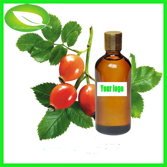 Organic cosmetic rosehip seed oil rosehip oil brands in india hot sale skin whitening essential oil
