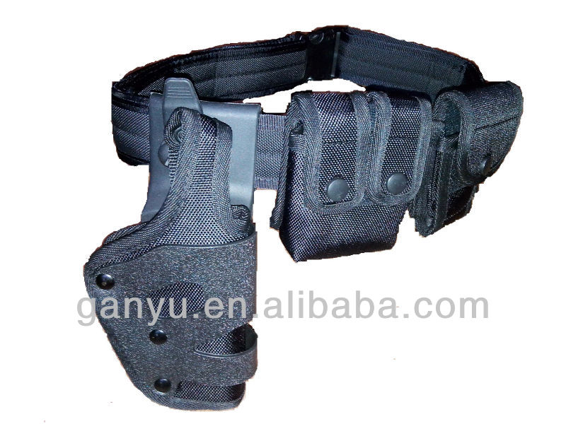 Polyester utility belt /holsters/Safety Belt with Pouches