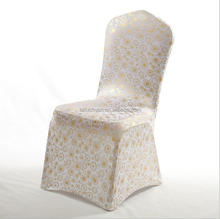 Wholesale Wedding Priting Elastic Material to Make Chair Covers