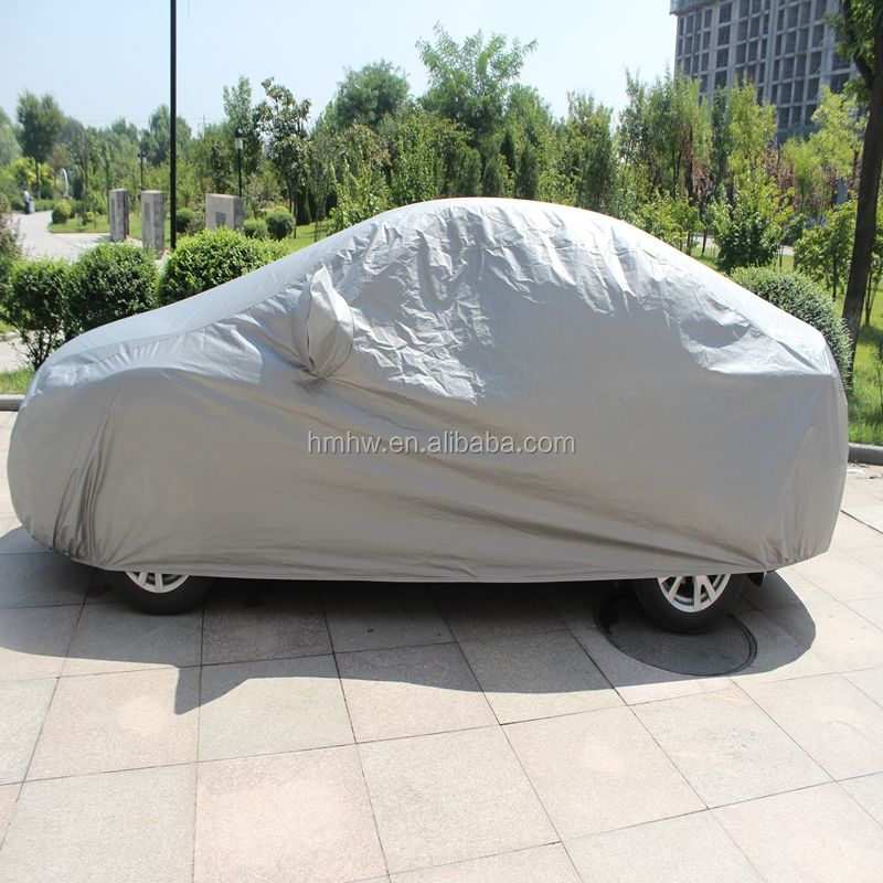 Factory OEM high quality folding silver PEVA S M L XL XXL sun car cover