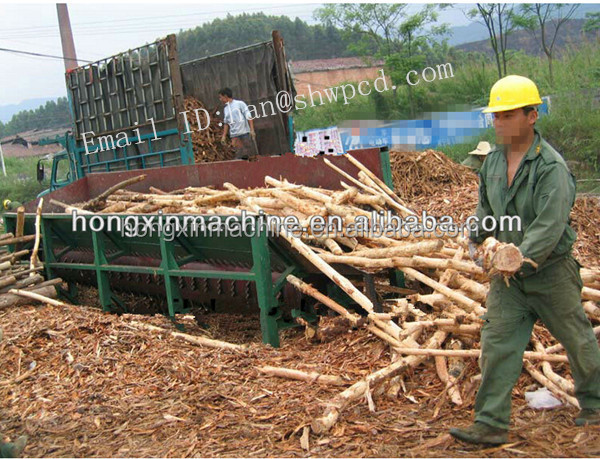 high efficiency drum log stripper wood peeler wood bark peeling machine wood debarker