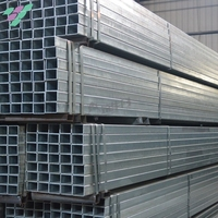 Dixiong China sale hot rolled galvanized rectangular steel pipe with stock