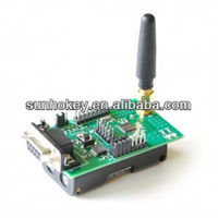2.4GHz CC2430 128 Zigbee Module RS232 with Programmer Interface
