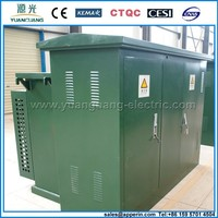 33kV compact electrical distribution substation transformer outdoor type