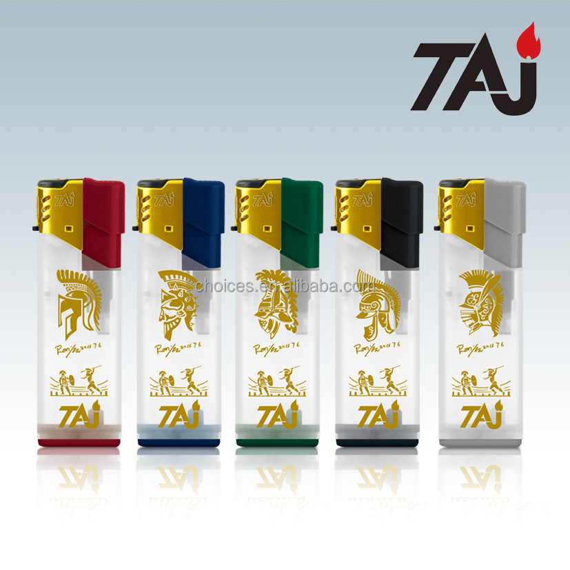TAJ Brand cigarette tesla lighter/Disposable windproof lighter