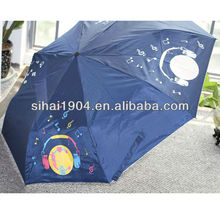 color changing umbrella when wet