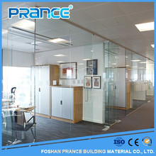 Reliable performance of the separation of partition glass decorative new design glass partition wall