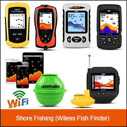 LUCKY portable fishing equipment hot sale colorful fish finder for outdoor sport FF718LiC