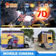 Amusement Park theatre 11d system theater 6d truck mobile 9d cinema
