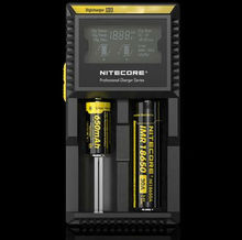 Nitecore D2 Charger LCD Battery Charger for Efest Battery 18650 3.7 Batteries