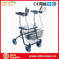 Disabled Folding Steel Forearm Rollator