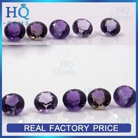 Charm nature round cut amethyst stone cheap price