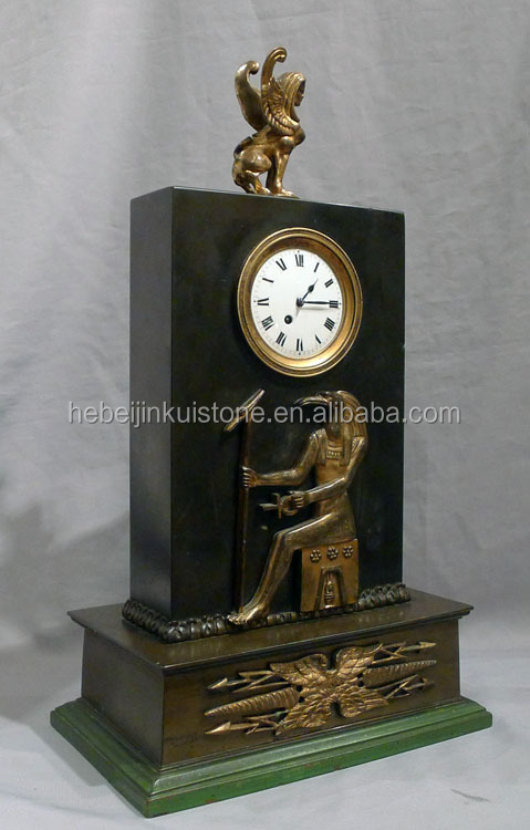 mechanical calendar clock