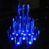 led water fountain candle light