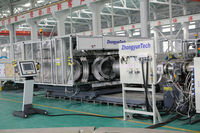 PE corrugated pipe making extruder machinery