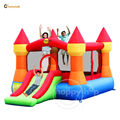 Castle Bouncer-9017N Castle Bouncer with Slide
