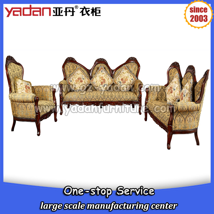 living room fabric finger sofa set wooden home furniture for 3 2 1 seater