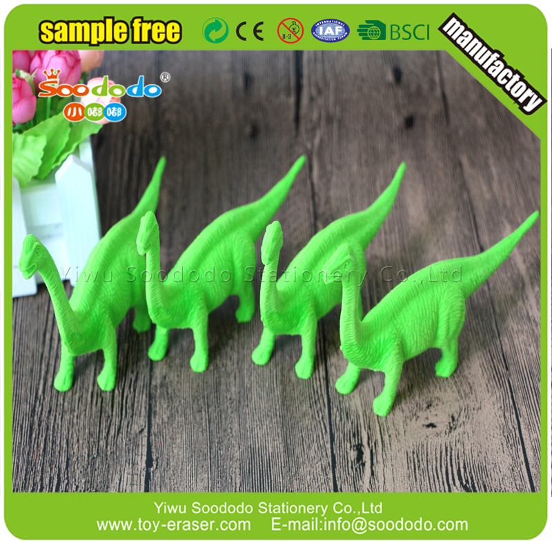 Gaint Dinosaur stationery product ,scented eraser