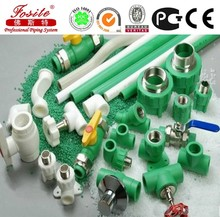 PPR Pipe Cold Water Pipe White color green line