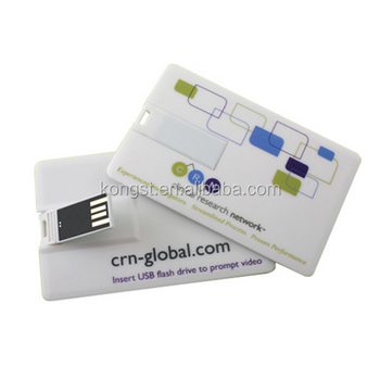 Full color logo printing credit card usb,business card usb flash drive,8GB USB Memory Card