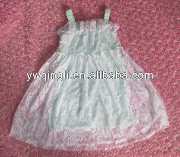 2014 New Style Baby Girl Lace Dresses Summer Dresses
