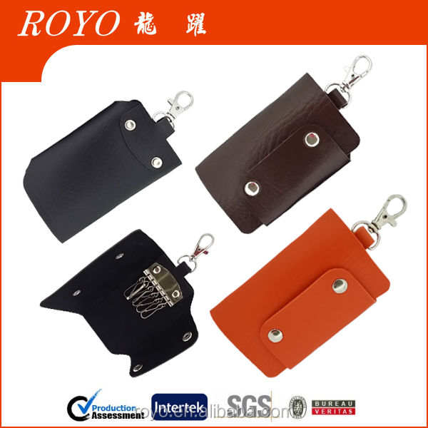 2016 new design mini key protector leather key bag