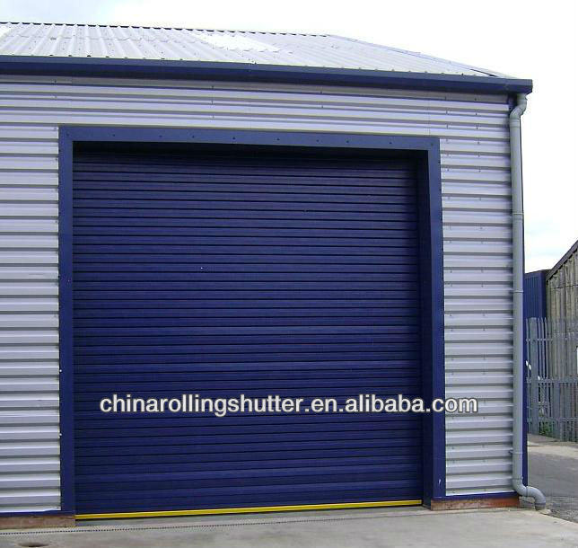 electric commercial door/steel garage door parts/rolling up door