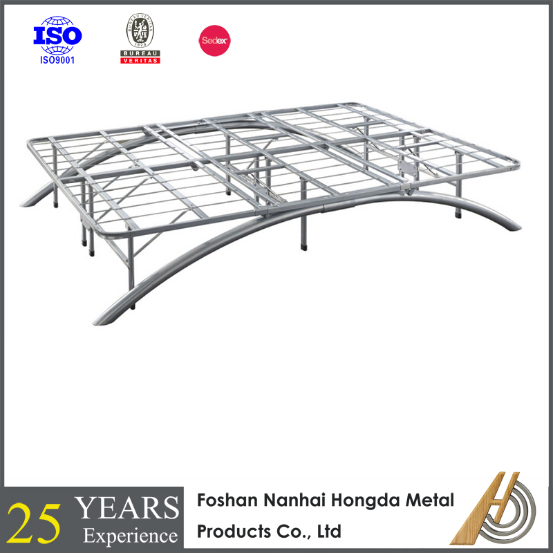 platform metal folding bed frame mechanism