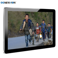 HD Resolution lcd advertising display mass production signage display/Digital signage players