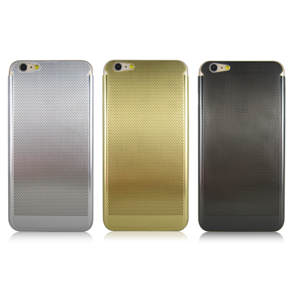 Stainless steel hollow protective phone case for iPhone 5 / 6 / PLUS