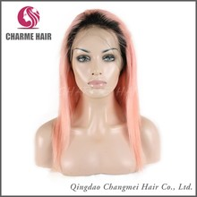 Hot sale pink cheap full lace wigs