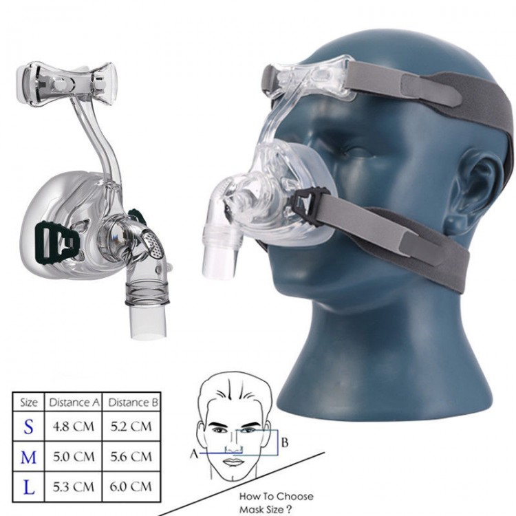 NM2 professional Sleep & Snore nasal cpap mask with headgear