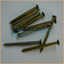 Manufacture high quality low price low price 9gauge electric galvanized smooth shank umbrella head roofing iron nail