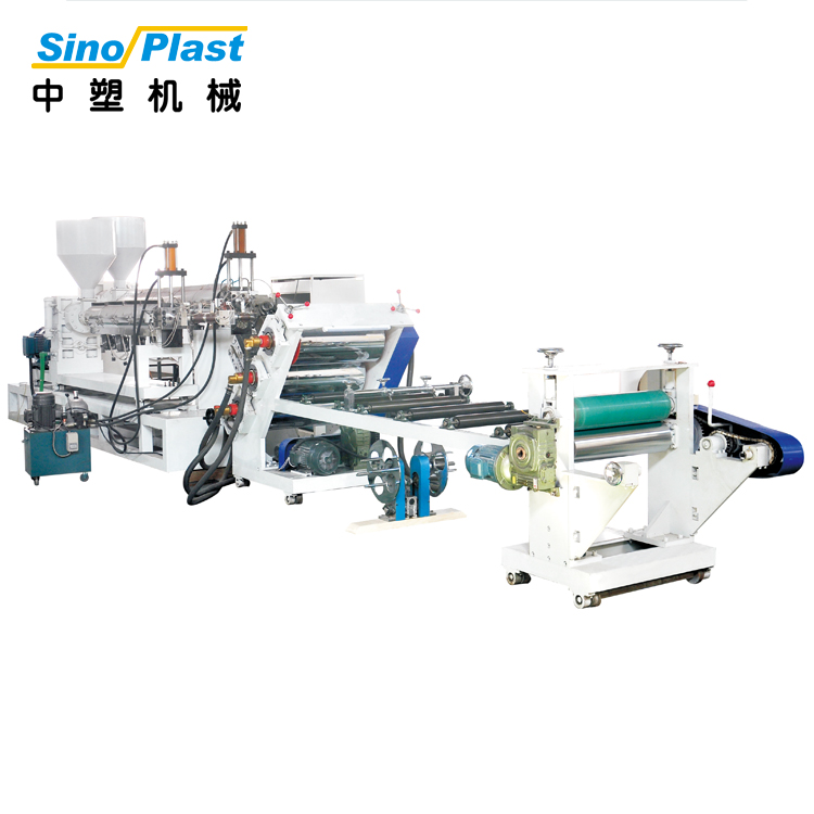 SINOPLAST High Quality Plastic Sheet PP PE Thin Sheet Extruder Extrusion Machine