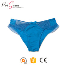 2017 hot sale fashion cheap blue breathable cute young girls spandex underwear sexy ladies small girls panties
