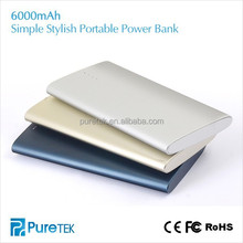 6000mah Universal Power Bank And 6000mAh Best Power Bank For iPhone/mini iPad/Samsung/Motorola/HTC/Blackberry/Cameras Etc