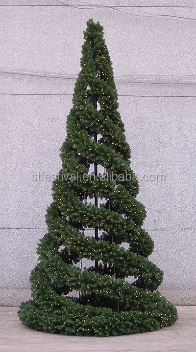 Outdoor Christmas Topiary Decorations