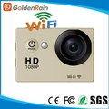 Cheap 2.0'' Inch Full HD 1080p sport camera With wifi