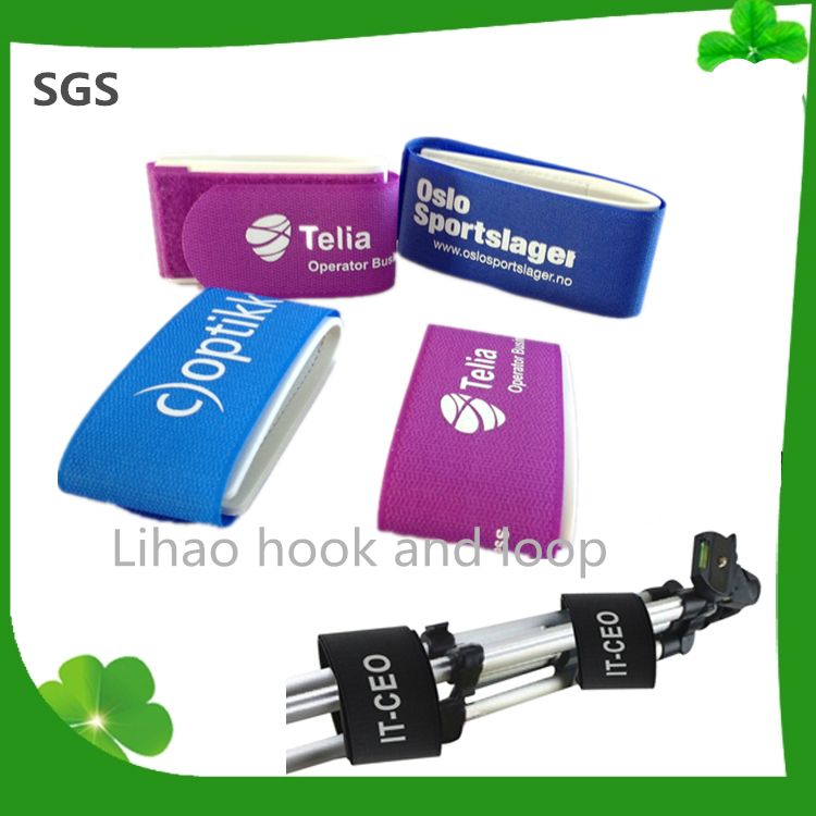 Manufacturer directly supply hook and loop ski band with great price