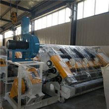 Finglerless single facer /automatic corrugated box making machine factory price