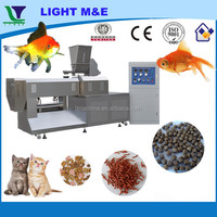 Automatic Stainless Steel Twin Screw Extruder Fish Feed Machine