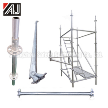 All-round Ringlock Scaffolding Part For Construction