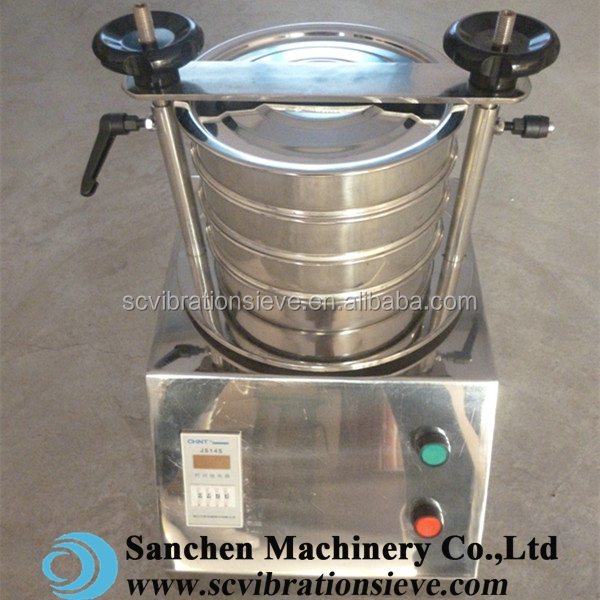 Hot selling 200mm rotary filter test lab sieve for granulation