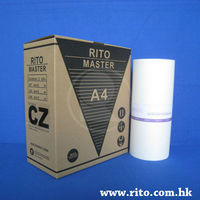 CZ A4 Master roll for Riso