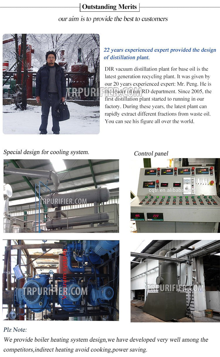 High quality warehouse mini oil refinery